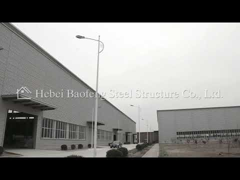 Supply professional design steel fabrication warehouse buildings