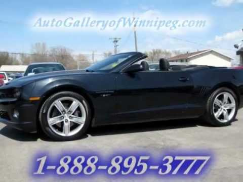 used 2012 chevrolet camaro 2ss convertible 45th anniversary edition for sale youtube. Black Bedroom Furniture Sets. Home Design Ideas