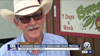okeechobee county to host three day music festival in march 2016