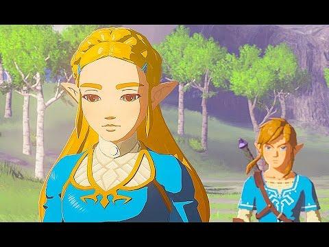 All Legend of Zelda trailers (1986-2017,main console)