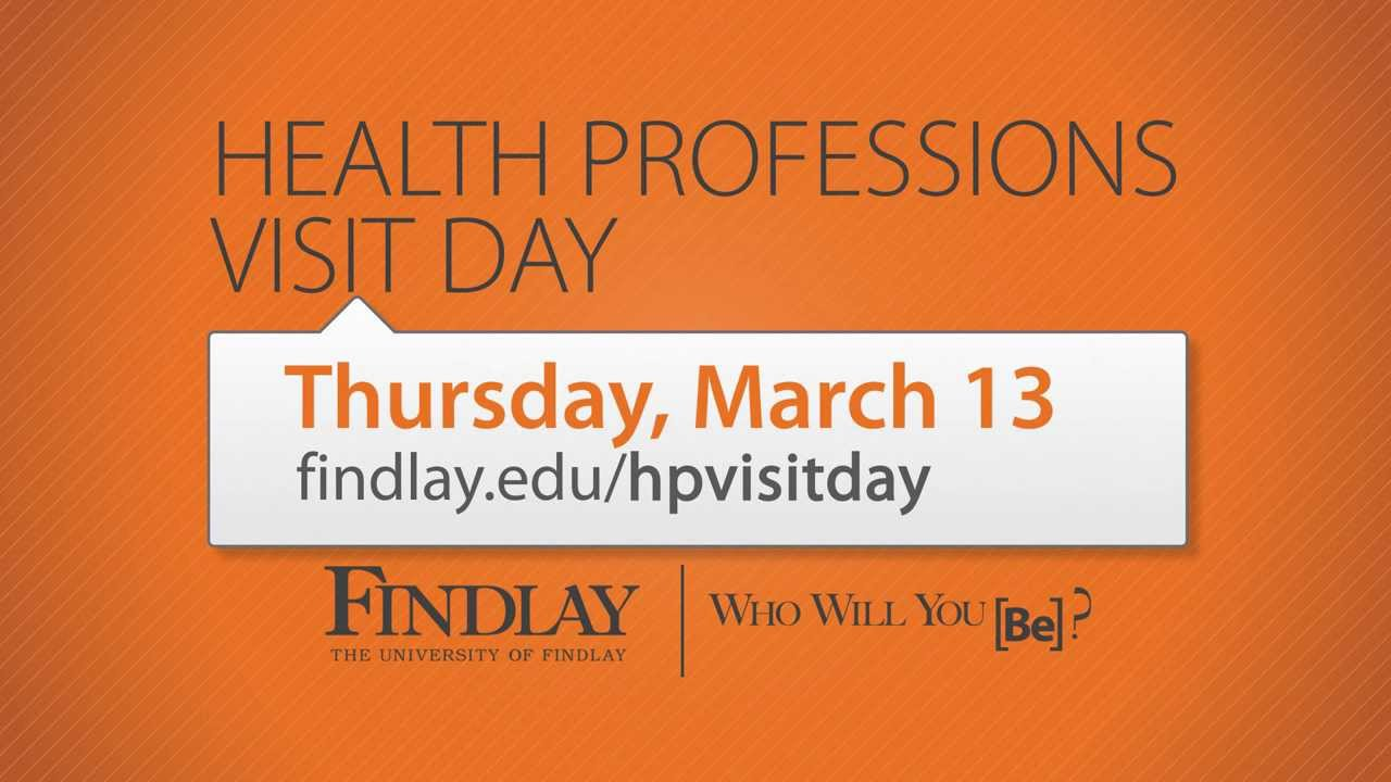 uf s health professions visit day   thursday march 13