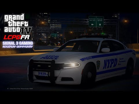 GTA 4 LCPDFR Multiplayer Roleplay | Signal 3 Gaming NYPD | Brooklyn Police Chase