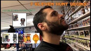 7/11 Deadpool Chimichanga Funko Pop Toy Hunt Begins! Deadpool, Fire Jack Jack, or Chase Porkchop?