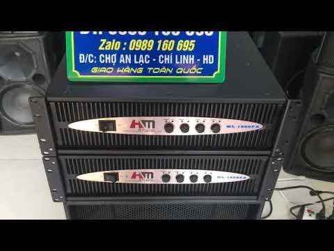 Đẩy Bãi 4 Kênh HM Audio 800w/ Kênh Giá 5,6 Tr đẹp Như Thùng Xốp Lh 0989160695