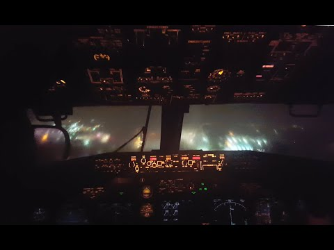 Eric Hunter - Pilots View Landing  A Jet In A Terrible Storm
