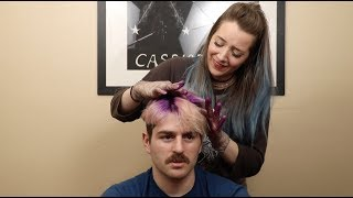 Cutting And Coloring My Boyfriend's Hair