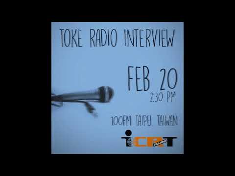 Toke D keda   Eddie Blazquez      Taipei, Taiwan Interview 100FM Radio