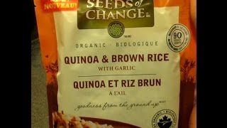 """Seeds of Change: """"Instant"""" Quinoa & Brown Rice review"""