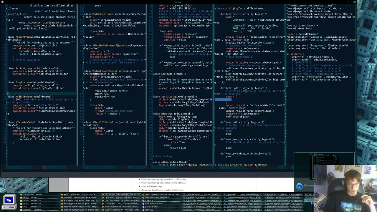 Media Center   Python/Django/JavaScript/ES6 Live Coding - Episode 3