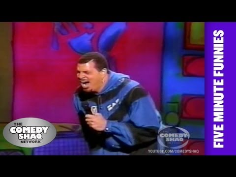 Sinbad⎢My dog wants me to kill him⎢Shaq's Five Minute Funnies⎢Comedy Shaq