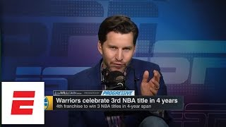 Did Warriors GM Bob Myers go too far with Kevin Durant joke? | The Will Cain Show | ESPN