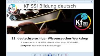 2016 11 03 PM Public Teachings in German - Öffentliche Schulungen in Deutsch