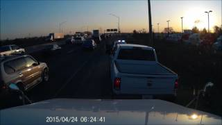 I-55 Insurance Scam FAIL, cops LOVE dash cams!