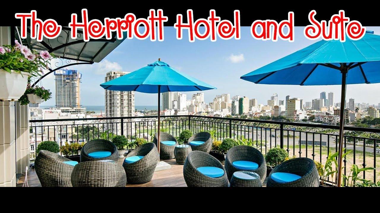 Review The Herriott Hotel & Suite | Du Lịch Ăn Uống Đà Nẵng Phần 1 #01