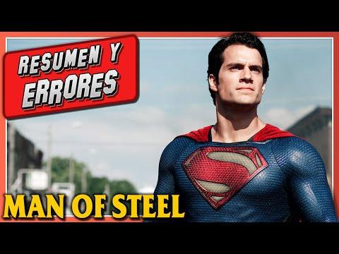 ERRORES de Películas Superman El Hombre de Acero The Man