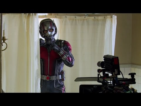 Ant-Man Behind The Scenes Footage - Paul Rudd, Michael Douglas, Evangeline Lilly, Corey Stoll