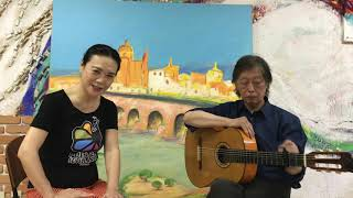 ギターリストの鈴木英夫さんとともに曲種の紹介と英夫さんとのエピソードをお話しします #10