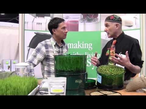 How to Grow Sprouts the Easy Way: Steve Meyerowitz, Sproutman talks with Juicing Expert John Kohler