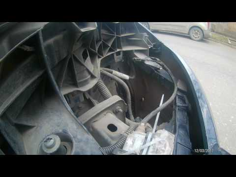 установка ксенона форд фокус