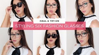 MY FASHION GLASSES TRY-ON & HAUL | 6 STYLES COLLECTION | Sophie Shohet | AD