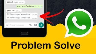 How to Recover deleted messages & status download on WhatsApp ?
