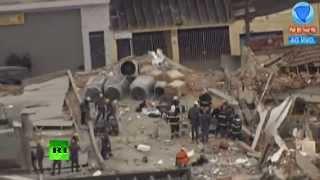 Обрушение здания в Сан-Паулу: 6 человек погибли