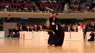 SlowMotion - UCHIMURA's K (vs HAYASHIDA) - 65th All Japan KENDO Championship - Semi final 61