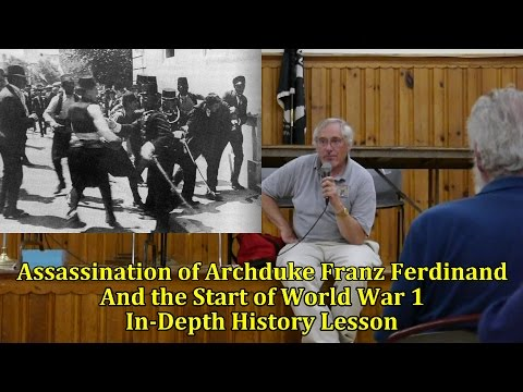 The Assassination of Archduke Franz Ferdinand and the Start of World War 1