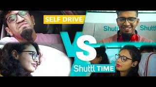 Shuttl Enjoy #ShuttlTime #Sleep #Work | Word of Mouth Media