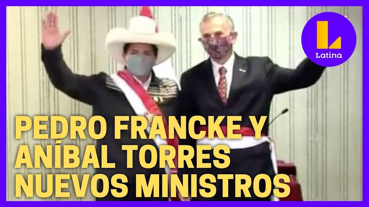 Pedro Francke y Aníbal Torres juraron como nuevos ministros de Economía y Justicia