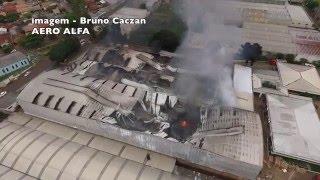 Incêndio móveis Estrela Arapongas - PR 07/02/16