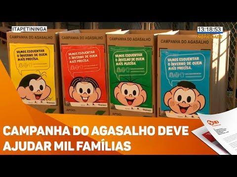 Campanha do agasalho deve ajudar mil famílias - TV SOROCABA/SBT