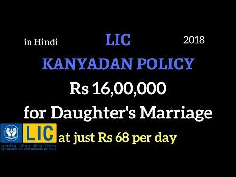 LIC kanyadan policy details hindi | LIC की कन्यादान पॉलिसी का क्या क्या फायदा हो सकता है  | Examples