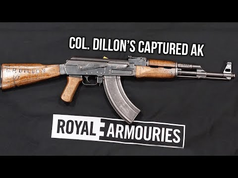 """We Were Soldiers"" Veteran Is Reunited with his Captured AK from Vietnam"