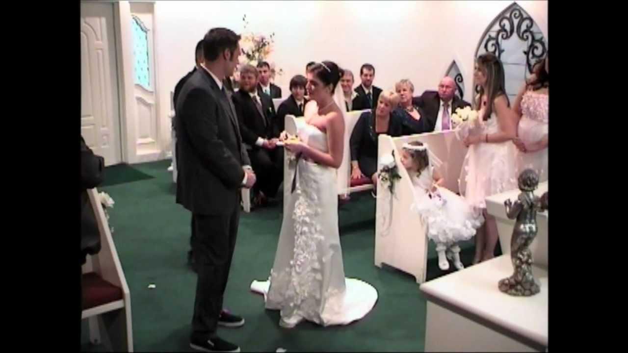 Rodney Lomas Ashley Kennedy Cupid S Wedding Chapel 01 08 12