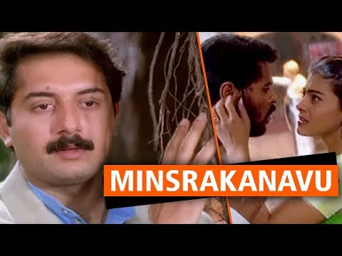 Minsrakanavu Malayalam Full Movies | Romantic Comedy Thriller | Arvind Swamy | Prabhu Deva | Kajol