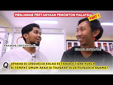 Menjawab Pertanyaan Dari Penonton Malaysia! Tidak Puasa Di Tempat Umum Bisa Ditangkap???!