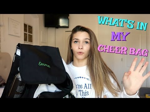 WHAT'S IN MY CHEER BAG 2018?