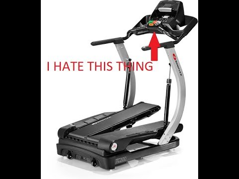 Things I HATE about my new Bowflex TC-100 treadclimber!
