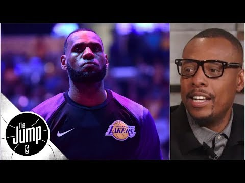The Showtime Lakers are \'definitely back\' with LeBron in town - Paul Pierce | The Jump