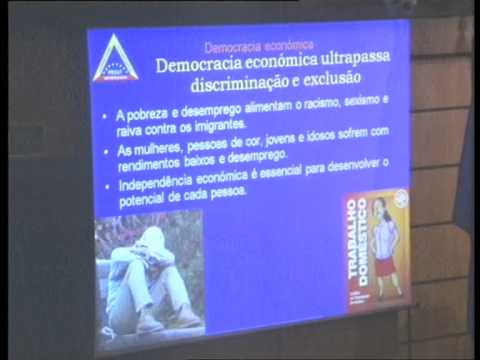 "Dia 16 - 15h20 -- ""Economic democracy in vision and action"" (Dada Maheshvarananda)"