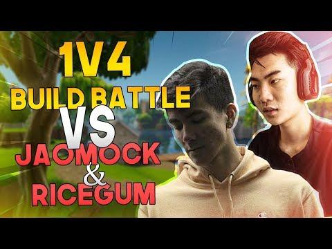 Avxry's CRAZY BUILD CLUTCH V.S. FaZe Jaomock & RiceGum! Round 1 Tournament - Fortnite Battle Royale