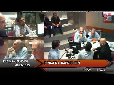 CAEGA Radio Palermo - Primera impresión 19 de Abril 2018