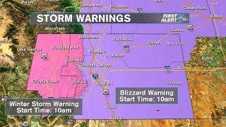 First Alert 5 Meteorologist Sam Schreier answers questions about strong winter storm
