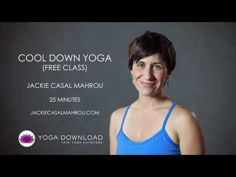 Cool Down Yoga - FREE YOGA CLASS