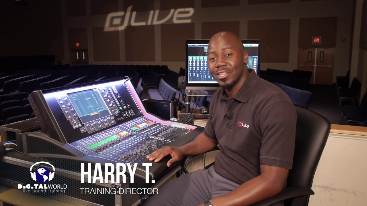 Allen & Heath dLive Training - Stereo Channels