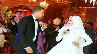 خناقة وقصف جبهة بين عروسة و عريس في دويتو ولع الفرح واصاب الجميع بحالة هستيرية! Wedding Tone