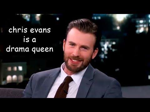 chris evans is a drama queen