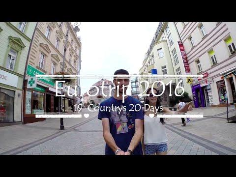 Eurotrip 2016 (Berlin - Tbilisi)