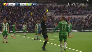 Höjdpunkter: Djurgårdens IF - Hammarby IF 1-2   29-04-2018